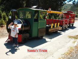 Mike with train